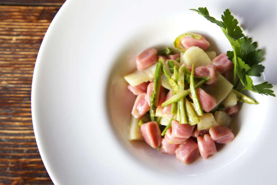 Gnocchi con asparagi verdi piacentini
