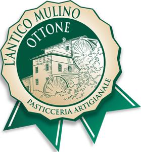 Logo ANTICO MULINO di ottone