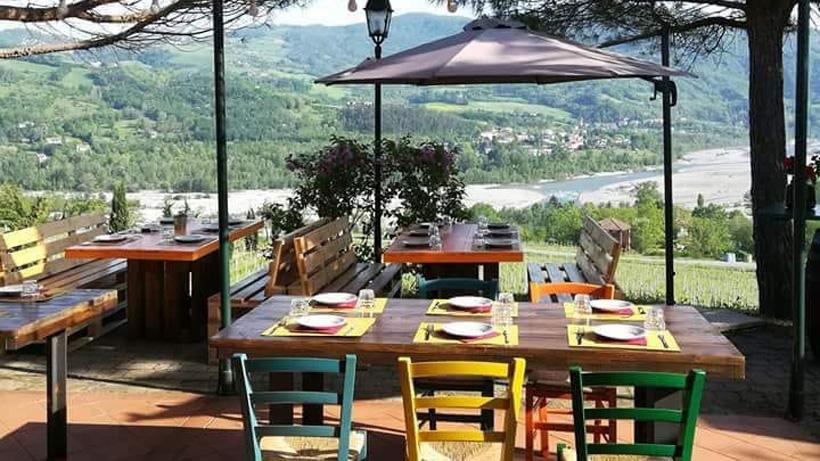 Agriturismo la dolce vite - foto terrazza panoramica