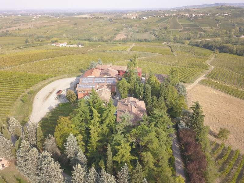 Azienda Agricola Zerioli - foto aerea - Ziano Piacentino.