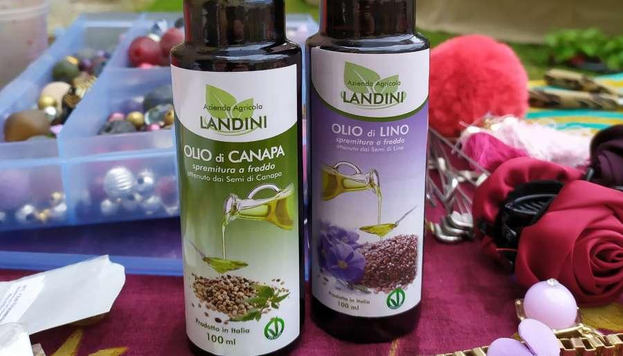 Azienda agricola landini - foto bottiglie olio