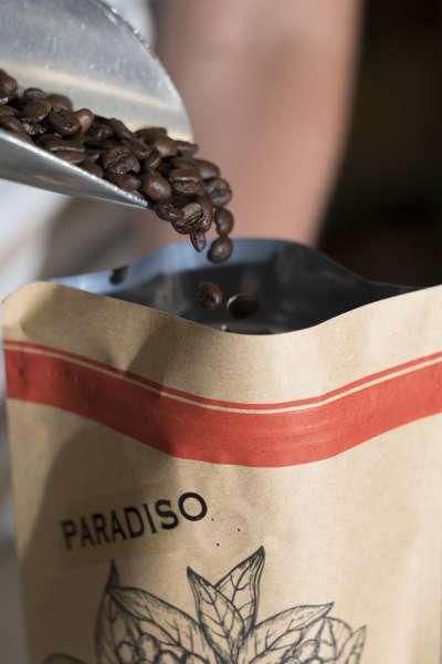 Musetti - spaccio - caffè - chicchi