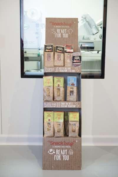 Snackbag - esposizione - prodotti